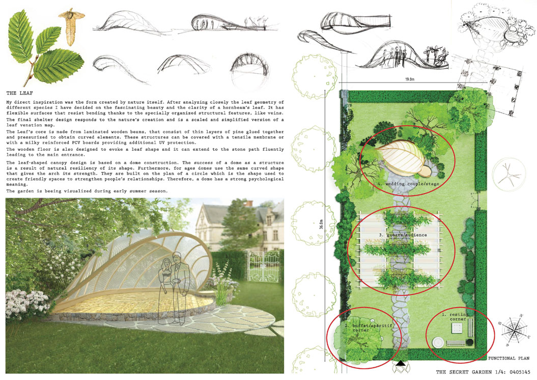 Kinga schubert for Landscape design contest